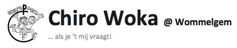 Chiro Woka @ Wommelgem